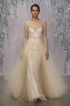 Glamorous Blush Wedding Dress Langham from Monique Lhuillier fb7034094
