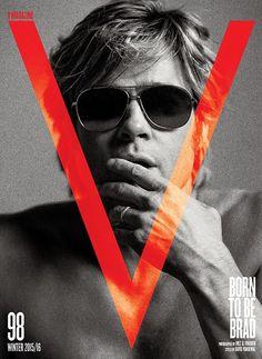Jan Theo!   blogspot: Brad Pitt for V Magazine by Inez & Vinoodh