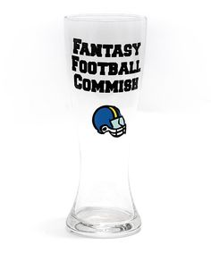 <p+style='margin-bottom:0px;'>Game-day+go-to.+This+handblown,+lead-free+pilsner+glass+makes+it+simple+to+sit+back,+relax+and+say+it+all.+We'll+drink+to+that.<p+style='margin-bottom:0px;'> <li+style='margin-bottom:0px;'>9''+H+x+3.25''+diameter<li+style='margin-bottom:0px;'>Holds+24+oz.<li+style='margin-bottom:0px;'>Glass<li+style='margin-bottom:0px;'>Hand+wash<li+style='margin-bottom:0px;'>Imported <br+/>