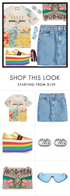 """""""#OOTD"""" by denisdp ❤ liked on Polyvore featuring Gucci, Anine Bing and Emilio Pucci"""
