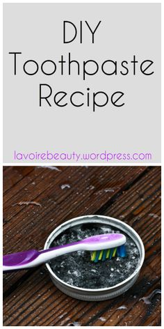 DIY Toothpaste Recipe with Baking Soda, Coconut oil, Charcoal and more...!