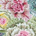 Philip Jacobs Fabric, Brassica Pastel (per 1/4 metre)