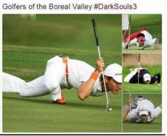 Golfers of the Boreal Valley