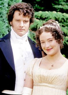 20 GIFs To Celebrate The Twentieth Anniversary Of BBC's Pride And Prejudice Happy anniversary of Colin Firth ruining all other men forever. Darcy And Elizabeth, Elizabeth Bennett, Colin Firth, Movies Showing, Movies And Tv Shows, Bbc, Jennifer Ehle, Image Film, Jane Austen Novels