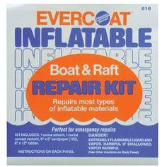 Evercoat Fiberglass Inflatable Boat Repair Kit