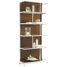 Lexington Mirage Warm Brown Cashmere Kelly Bookcase