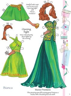 Fashion Model - Bianca 2 from Dover Publications