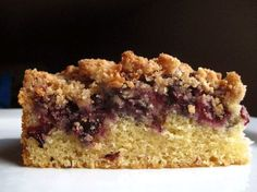 Blueberry Crumb Coffeecake- High Altitude Baking
