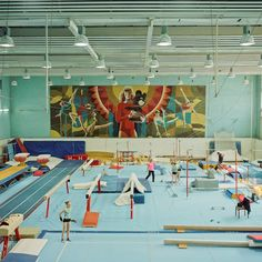thisispaper:Summer Olympics by Anastasia Tsayder