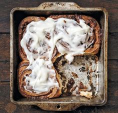 Sausage cinnamon rolls.     Take putting syrup on your sausage to the furthest possible conclusion.