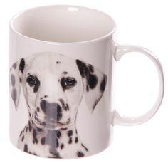 Coffee Mug New Bone China Cute Dog Cup Dalmatian by getgiftideas
