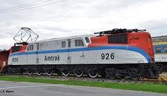 (GG1).  AMTRAK  # 926  G.E. Class GG1