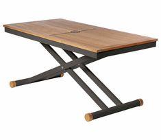 61c5c954f0 Barlow Tyrie Aura Adjustable 140cm Table