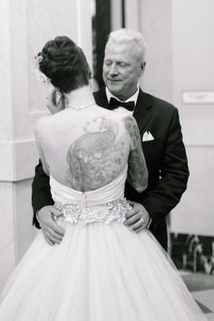 Father's First Look Schmidt Wedding Photo By Megan Chase Photography