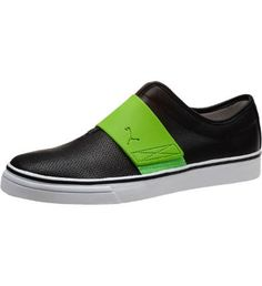 El Rey Cross Perf Leather Men's Slip-On Shoes: El Rey has never been an ordinary, vulcanized slip-on. It