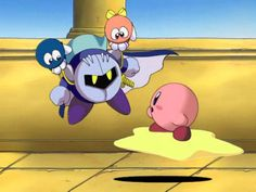 Meta knight stop being lazy XD