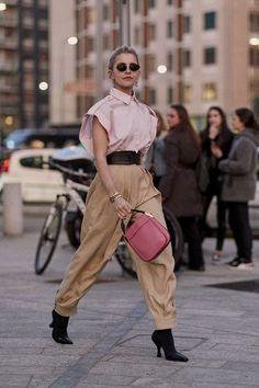 Attendees at Milan Fashion Week Fall 2019 - Street Fashion Street Style Looks, Milan Fashion Weeks