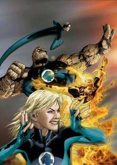 Ultimate Fantastic Four by Salvador Larroca