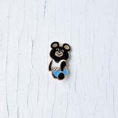 Soviet Union Olympic Bear Metal Pin - USSR - Olympics - Special for Moscow Olympic Games 1980. $12.20, via Etsy.