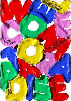 film poster design A selection of wonderfully creative work by graphic designer Erich Brechbhl from Lucerne, Switzerland. Really appreciate the variety yet underlying Portfolio Graphic Design, Graphic Design Posters, Graphic Design Typography, Graphic Design Inspiration, Graphic Art, Japanese Typography, Graphic Design Projects, Cover Design, Graphisches Design