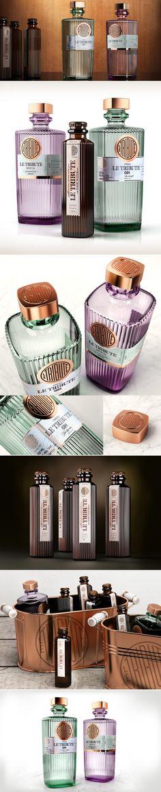 LE TRIBUTE — The Dieline | Packaging & Branding Design & Innovation News