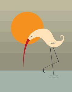 Bird Vertical by Volkan Dalyan