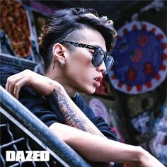 Jay Park - Dazed and Confused Magazine April Issue '16