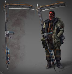 Digital Post-Apocalypse Illustrations by Pavel Proskurin Character Concept, Character Art, Concept Art, Character Design, Post Apocalyptic Costume, Post Apocalyptic Art, Apocalypse World, Apocalypse Art, Cyberpunk