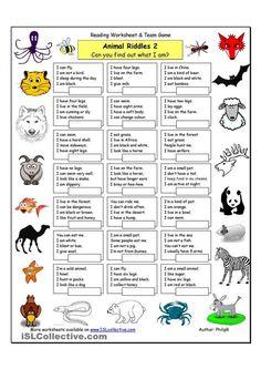 Animal Riddles 2 (Medium)