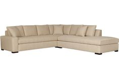 Master bedroom seating area, +++ (Left hand facing) Lee Industries 5392-Series Sectional Series