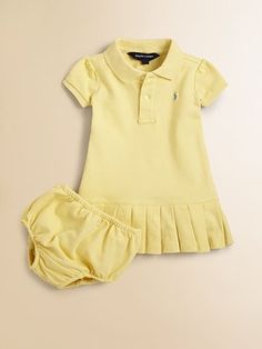 Ralph Lauren Infant's Polo Dress ..  Avery and Brooke :)