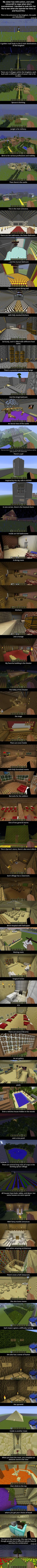 Girl With Mild Autism Uses Minecraft To Cope When She's Overwhelmed. Here's The Kingdom She Built. A girl with mild autism uses Minecraft to cope when she's overwhelmed. Here's the kingdom she built. Life Hacks, All Meme, Little Bit, Faith In Humanity Restored, Mind Blown, Just In Case, Fun Facts, Funny Pictures, Funny Pics