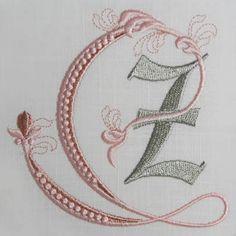Fleur de Lis Alphabet- Z