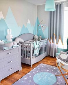 Ideas room baby girl or boy … – Kids Room 2020 Baby Boy Room Decor, Baby Room Design, Baby Bedroom, Baby Boy Rooms, Nursery Room, Girl Room, Kids Bedroom, Nursery Decor, Nursery Ideas