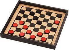 Maple Landmark 50320 Checkers, Premium Crown Set