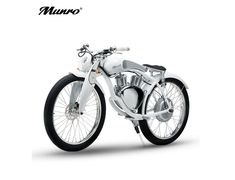 SHI PAO Munro Electric Motorcycle, 2 Wheels Classical Style Retro Motorbike, Removable Lithium Battery Green Energy City/Beach Cruiser E-Bike with Powerful Display LED Indian Scout, Best Electric Bikes, Electric Bicycle, Electric Motor Scooters, Retro Roller, Power Motors, Motorised Bike, Magnetic Motor, Cruiser Bicycle