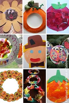 10 Fantastic Fall Crafts for Kids including paper plate crafts handprint crafts toilet paper rolls popsicle sticks and more! | Fall Fun! & 10 Fantastic Fall Crafts for Kids including paper plate crafts ...