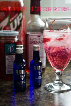 Platinum 7X Vodka: Seven Cherries