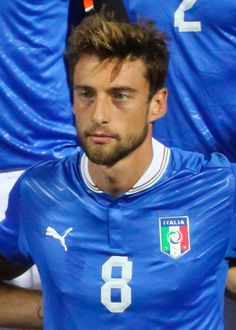 Claudio Marchisio is an Italian footballer who plays as a midfielder for Juventus and the Italian national team. A product of the Juventus youth system, he has spent his whole career thus far at his hometown club, with the exception of a season-long loan spell at Empoli. He is currently the club's second vice-captain, behind Giorgio Chiellini.  Since making his breakthrough in the 2008–09 season, Marchisio has often been compared to former Juventus and Italy midfielder Marco Tardelli...