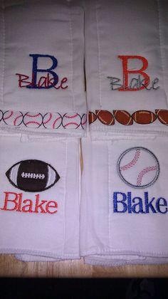 Sports Burp Rags