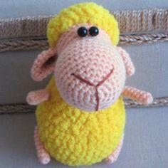 Амигуруми: Овечка. Бесплатная схема для вязания игрушки. FREE amigurumi pattern. #амигуруми #amigurumi #схема #pattern #вязание #crochet