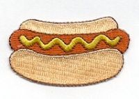 Hey, I found this really awesome Etsy listing at https://www.etsy.com/listing/165415276/iron-on-patch-hot-dog-hotdog-iron-ons
