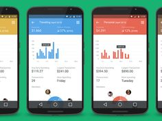 Signa Android UI Design Community — Financial application by Michal Langmajer / Cleevio