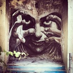 WD street art, wall from Sliema Street Art Festival