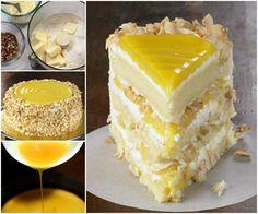 Lemon Coconut Cake Is Moist and Fluffy