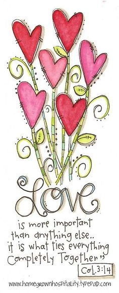 Col. 3:14 ♥ | p.s. I heart you ❤