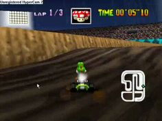 On Wario Stadium if you get lighting, use it before your friends go over the big jump so they won't be able to make it and will have to redo the jump while you are winning the race Mario Kart 64, Super Mario Kart, Mario Bros, Video Game Memes, Video Games Funny, That's Hilarious, Funny Gifs, Nerd Stuff, Funny Stuff