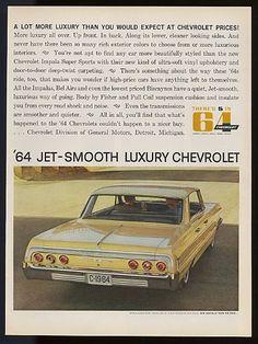 64 chevy impala  chevrolet