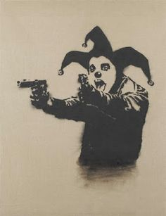 Banksy, Insane Clown, 2001