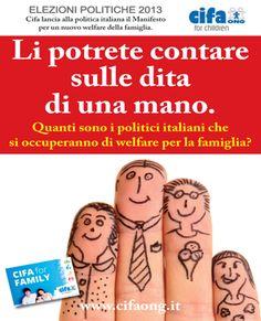 Un vero e  proprio manifesto sul welfare con l'elenco dei punti strategici non più rinviabili per la famiglia italiana.